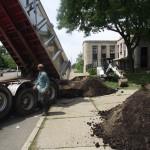 New Soil Delivered